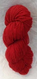 yarn cherry red