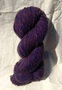 yarn purple