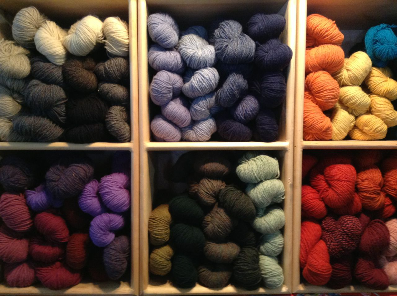 Sap Bush Hollow Farm yarn