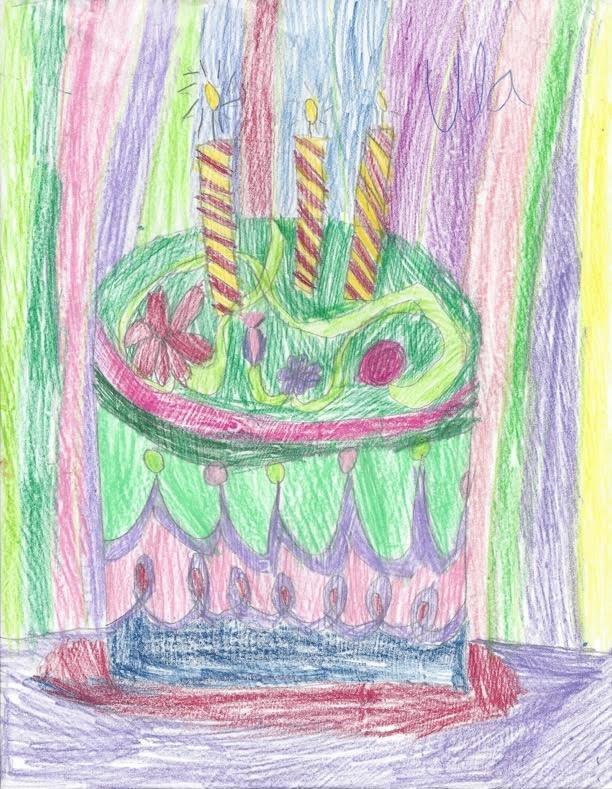 Radical Homemaker - Birthday Cake Card