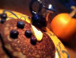 Buckwheat-Lard Pancakes