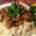 Ground Beef Vindaloo…in 60 minutes